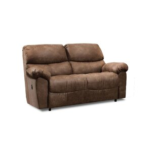 Shop Alviso Rocking Reclining Loveseat by Loon Peak