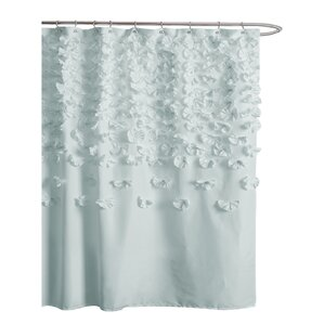 grey and green shower curtain. Pollie Shower Curtain Curtains  Joss Main