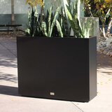 Metallic Series Galvanized Powder-Coated Steel Planter Box