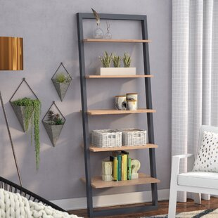 Coupon Theophanes 2 Tone Ladder Bookcase ByMercury Row