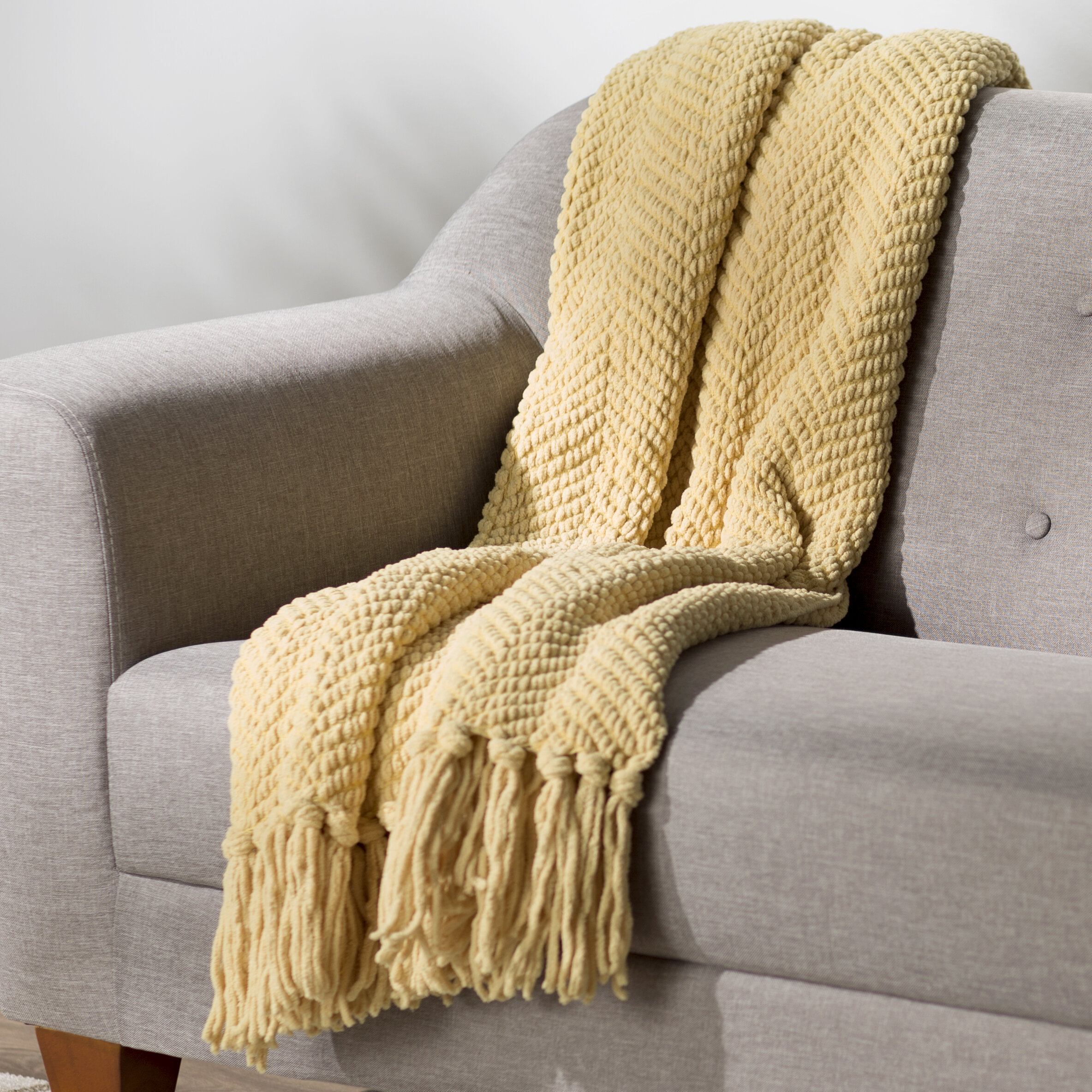 cotton garcia stacy throw couch eco southwest throws products by recycled oatmeal blanket
