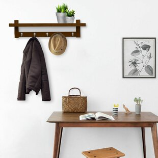 Schulenburg Wall Mounted Coat Rack 65fcfbe00223