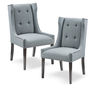 Compare prices Gunnar Upholstered Dining Chair by Charlton Home Reviews (2019) & Buyer's Guide