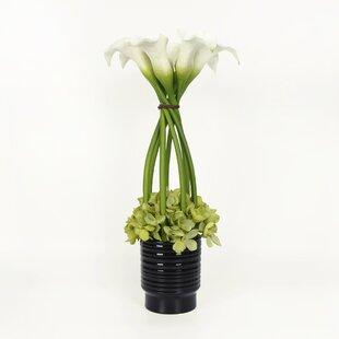 Tall dried flowers wayfair tall mixed floral arrangement mightylinksfo Gallery