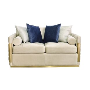 Everly Quinn Norwell Standard Loveseat