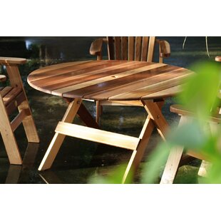 Macie Round Wooden Dining Table