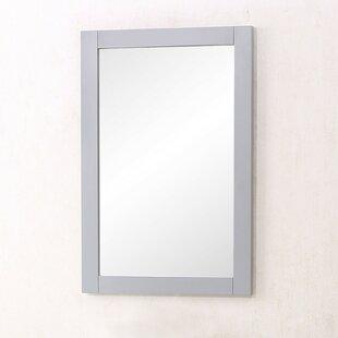 Weathered Gray Bathroom Mirror Wayfair