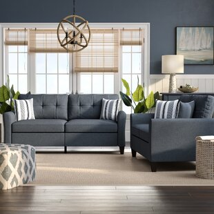 Compare & Buy Wolfram 2 Piece Living Room Set by Breakwater Bay Reviews (2019) & Buyer's Guide