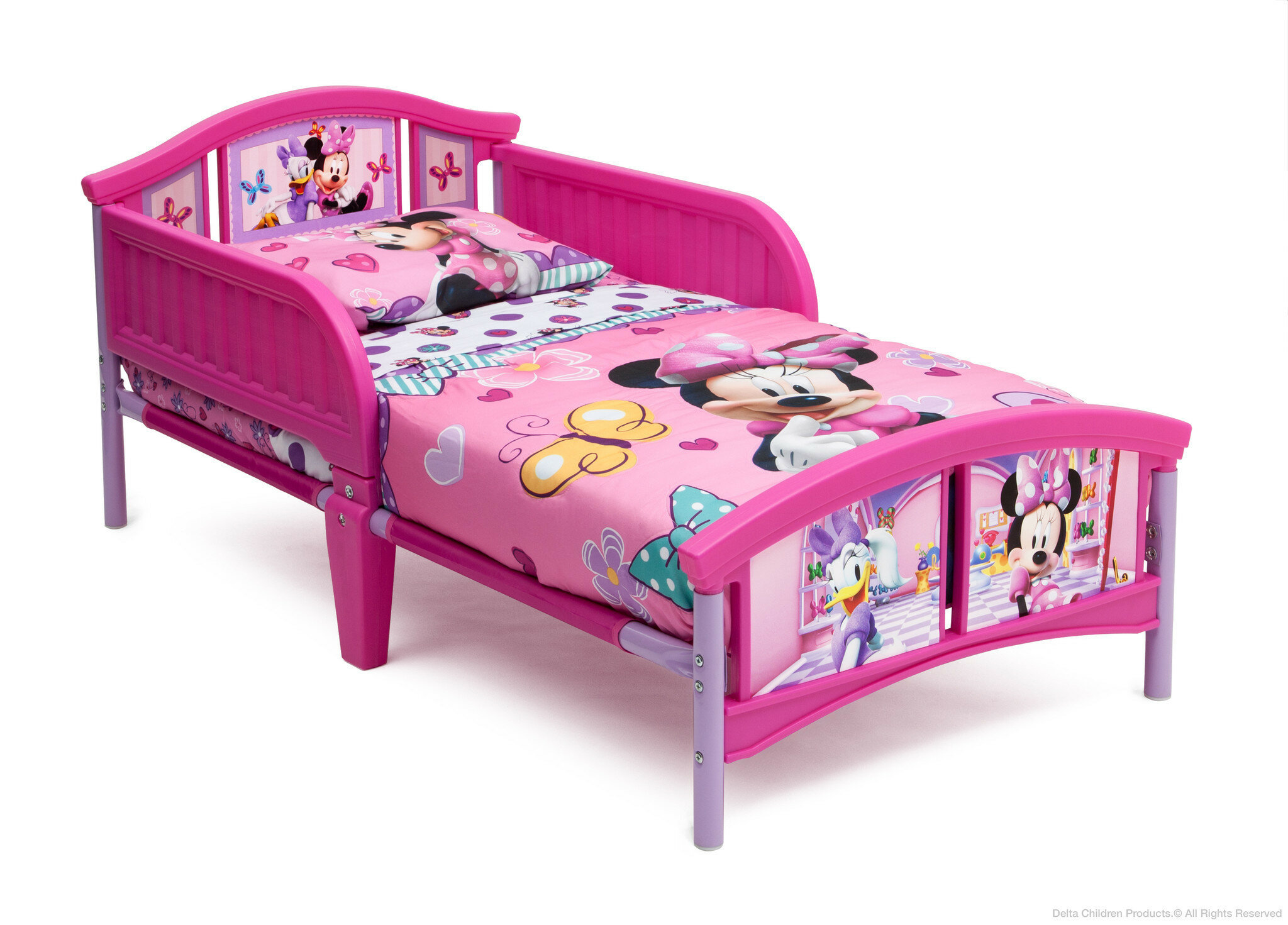 Delta Children Disney Minnie Mouse Convertible Toddler Bed Reviews