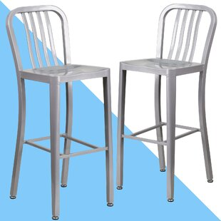 Clancy 30 Bar Stool (Set of 2) by Hashtag Home