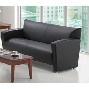 Tribeca Leather Sofa OfficeSource