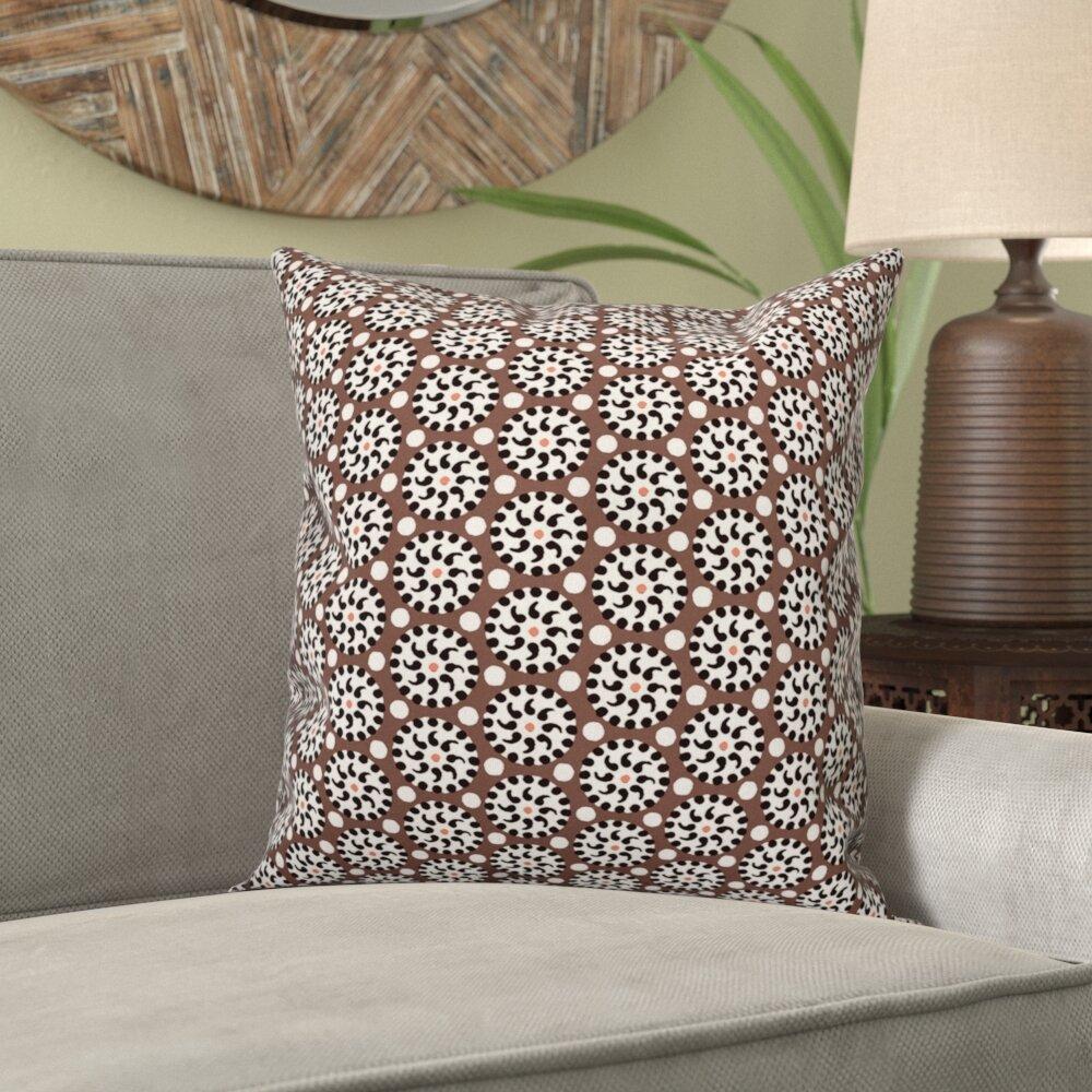World Menagerie Rickman Polka Dots Square Pillow Wayfair