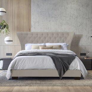 Smardale Upholstered Bed Frame By Rosalind Wheeler