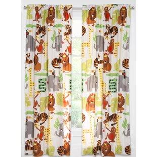 Crayola Jungle Love Single Curtain Panel