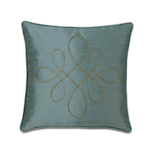 Monet Edris Mineral Scroll Throw Pillow