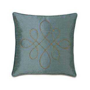 Monet Edris Mineral Scroll Throw Pillow