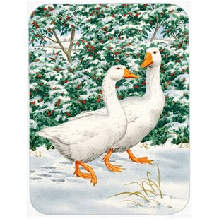 Geese Glass Cutting Board By Caroline's Treasures