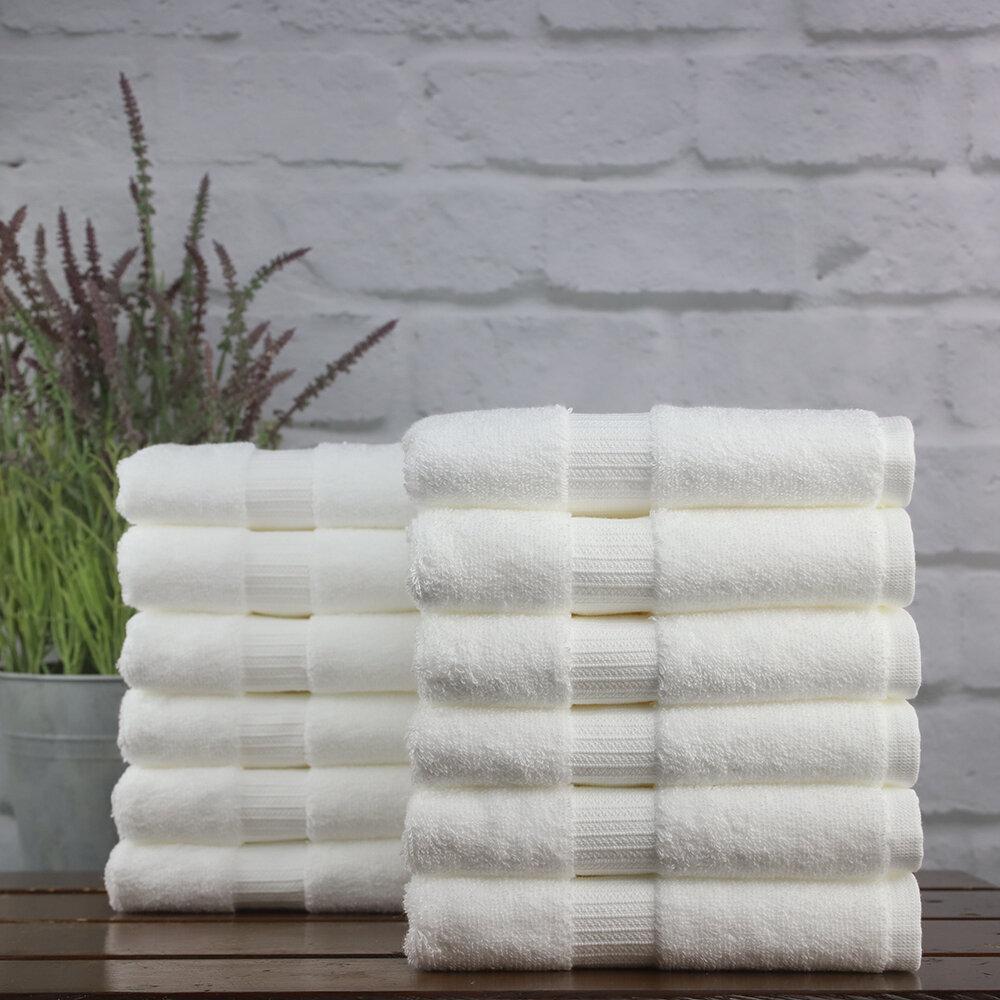 1888 Mills Green Threads 96 Piece 100 Cotton Hand Towel Set Wayfair