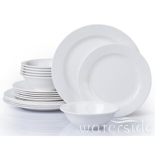 525262577366 Ribeiro 18 Piece Melamine Dinnerware Set, Service for 6