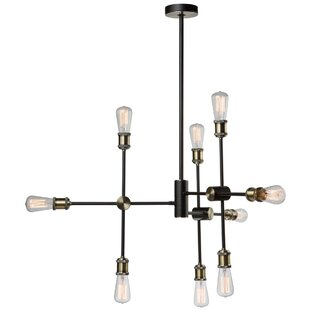 Mercury Row Wolfgram 9-Light Sputnik Chandelier