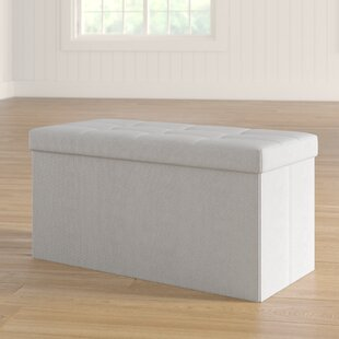 Tankersley Collapsible Upholstered Storage Bench
