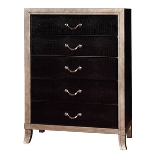 Willa Arlo Interiors Berthe 5 Drawer Chest