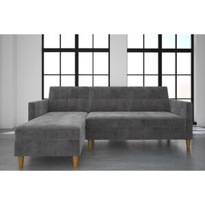 Stigall Sleeper Sectional  sc 1 st  Wayfair.com : chaise lounge couches - Sectionals, Sofas & Couches