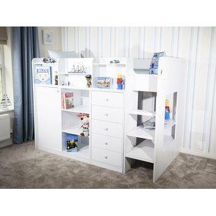 Wizard Junior Storage Station High Sleeper Bed Frame by Home Loft Concept