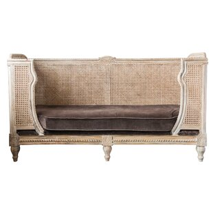 Jurgensen Mango Wood & Cane Daybed with Mattress