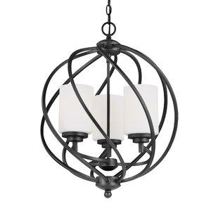 Redington 3-Light Globe Chandelier