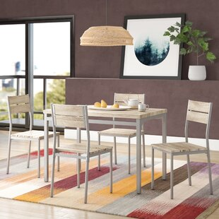 Danielson 5 Piece Dining Set by Turn on the Brights Modern