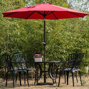 Kenn 9' Market Umbrella by Charlton Home