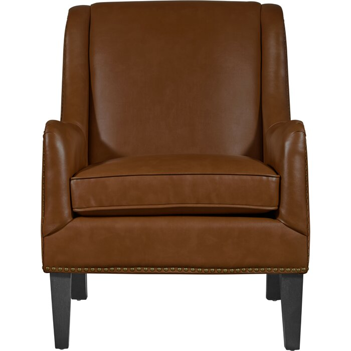 Cool Andover Leather Armchair Short Links Chair Design For Home Short Linksinfo