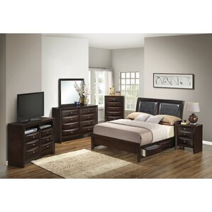 Beautiful Medford Platform Configurable Bedroom Set