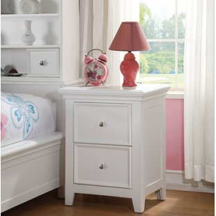 Best Reviews Didmarton 2 Drawer Nightstand by Red Barrel Studio