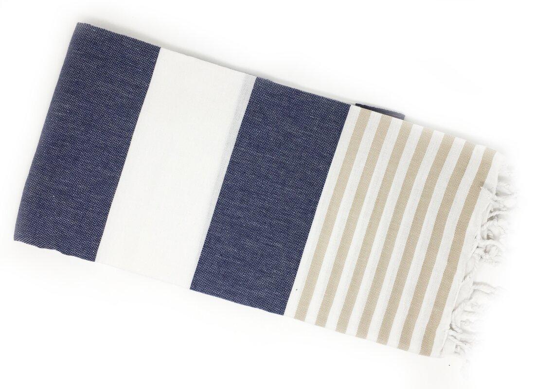 Pestemal Turkish Beach Towel #turkish #towel #bluestripe