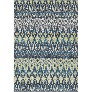 Pulido Lime/Teal Area Rug