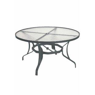 La'Stratta Glass Dining Table by Tropitone