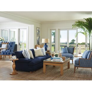 Barclay Butera Newport 3 Piece Coffee Table Set