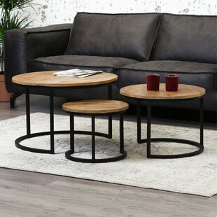 Mustafa 3 Piece Coffee Table Set By Williston Forge