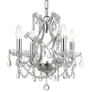 Catchings 4-Light Crystal Chandelier