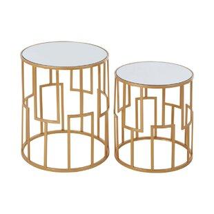 Ellzey 2 Piece Nest Of Tables By Fairmont Park