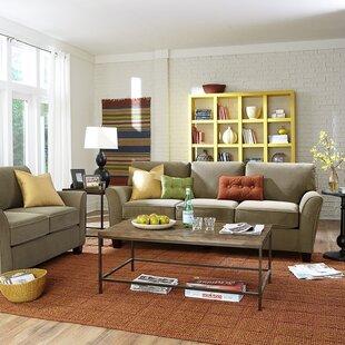 Clayton Configurable Living Room Set by Red Barrel Studio