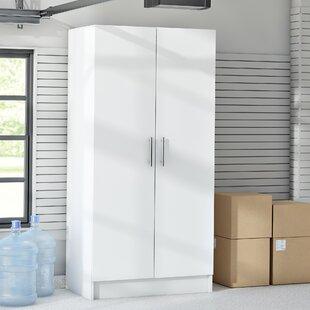Wayfair Basics 65H X 32W 16D White Storage Cabinet