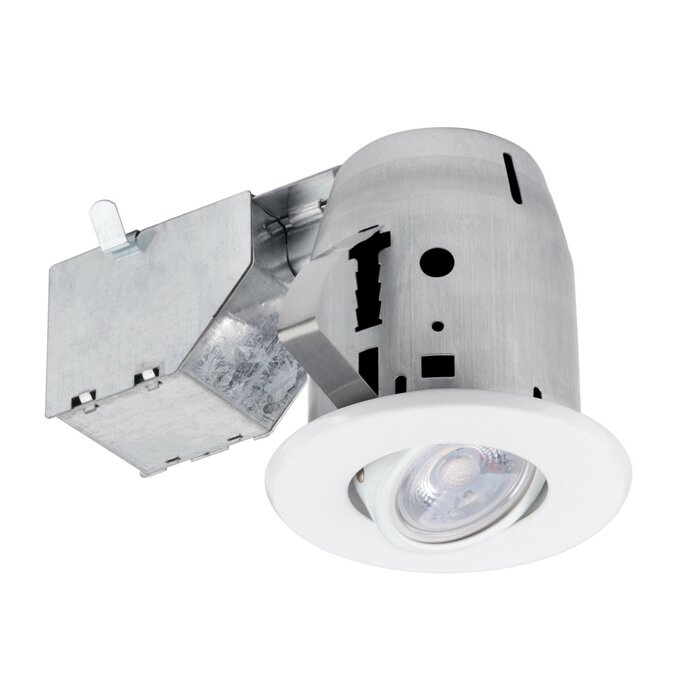 Ic Rated Swivel 3 Led Recessed Lighting Kit