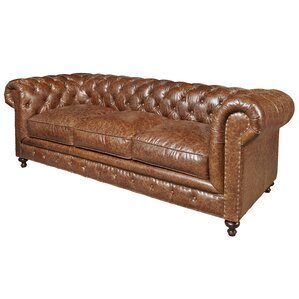 Julesburg Leather Chesterfield Sofa by Trent..