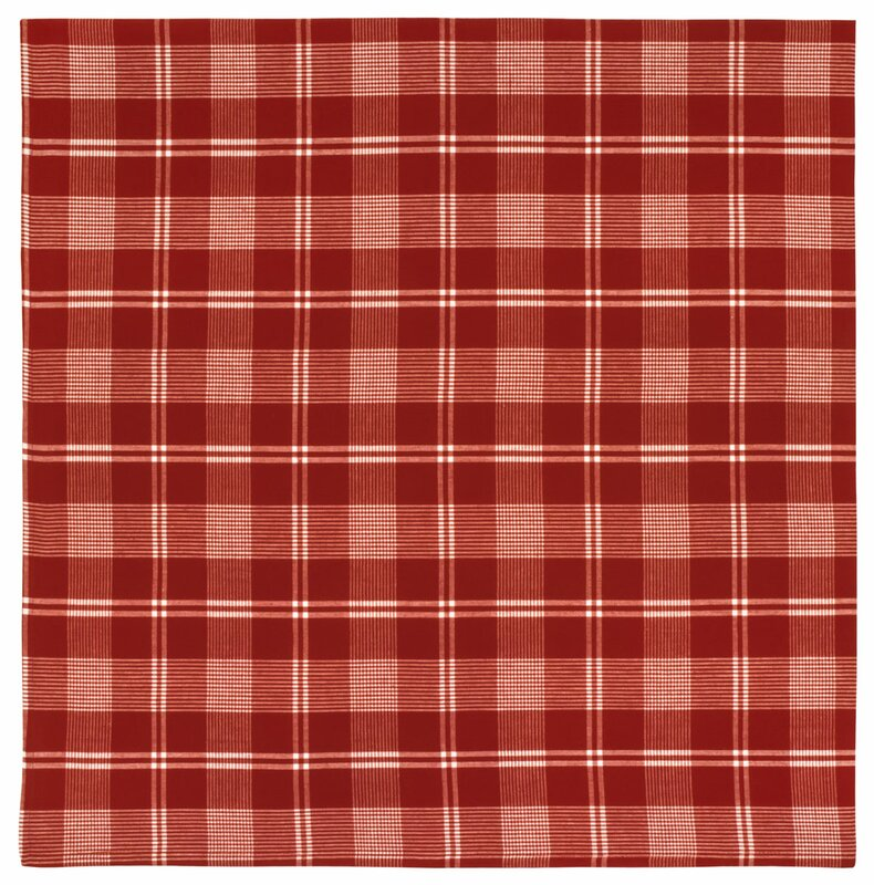Dariell Plaid Tablecloth