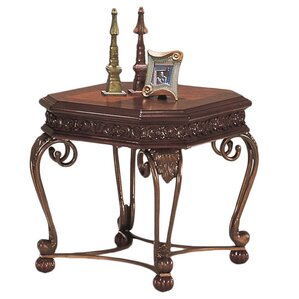 End Table by Fleur De Lis Living