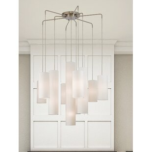 Brayden Studio Dimattia 10-Light Sputnik Chandelier