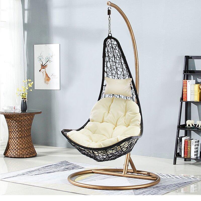 Brayden Studio Weymouth Swing Chair Reviews